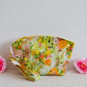De la Rose eesti käsitöö kosmeetikakott niiskuskindel roosa