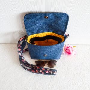De la Rose eesti käsitöökotid uuskasutusena mööbikangast vastupidav crosbody bag