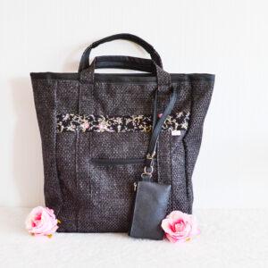 De la Rose eesti käsitöökotid uuskasutusena mööbikangast vastupidav