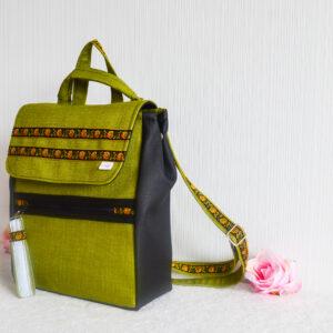De la Rose eesti käsitöö disain seljakott mööblikangas uuskasutus
