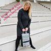 De la Rose eesti käsitöökott uuskasutus mööblikangast vastupidav pestav