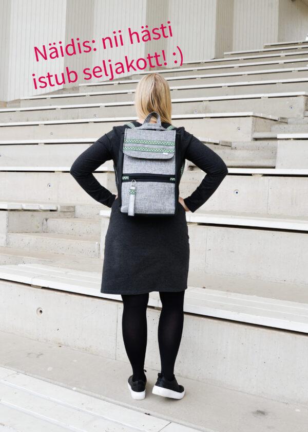 de la rose eesti käsitöökotid disainkotid uuskasutus mööblikangast