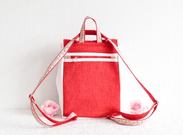 De la Rose eesti käsitöö disain naiste seljakott vihmapidav kangast pestav