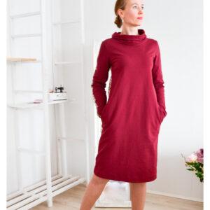 De la Rose dresskleit/tuunika pehmest dresskangast