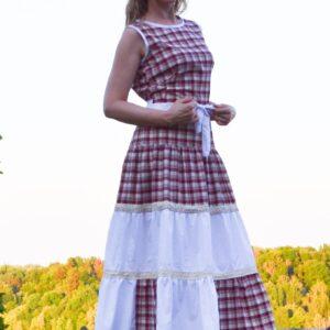 De la Rose Eesti käsitöökleidid, puuvillasest kehasõbralikust kangast
