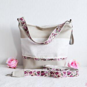 De la Rose käekotid Eesti disain ja käsitöö, valminud mööblitööstuse kangajääkidest